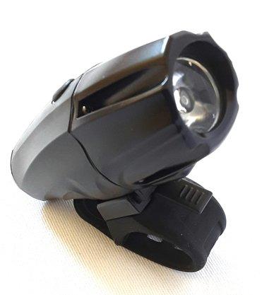 FAROL DIANTEIRO ABSOLUTE JY-7026 COM LED 1000 LUMENS PTO USB